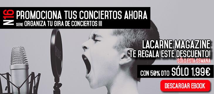 promocionar conciertos